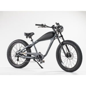 "ReviBikes 26"" 750W Cafe Racer Fat Tire E-Bike by ReviBikes"