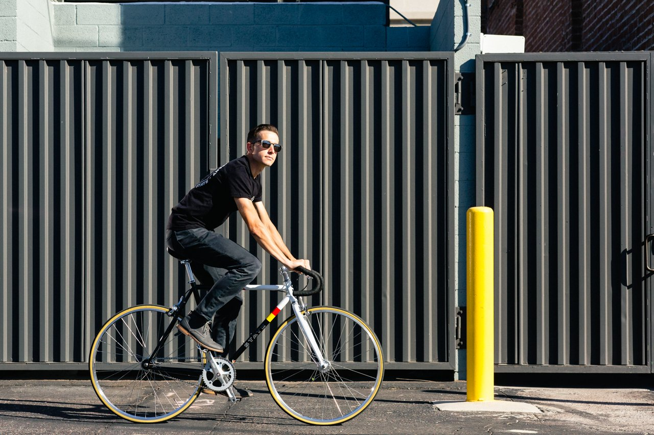 4130 - Van Damme –  (Fixed Gear / Single-Speed) by State Bicycle Co.
