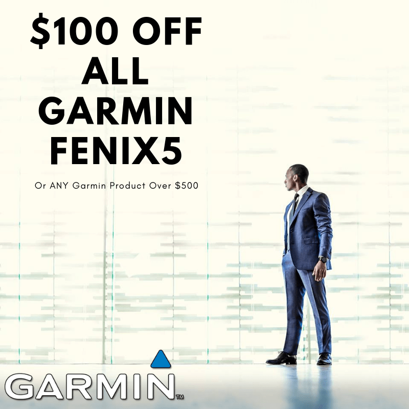 NOW: $100 Off Garmin Products - WatchCo.com