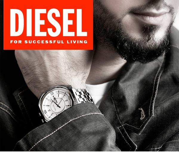 Be Bold With Diesel Watches - WatchCo.com