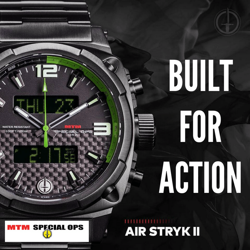 BRAND NEW FOR FALL: MTM Special Ops Watches - WatchCo.com