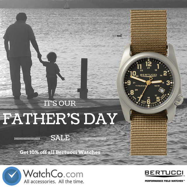 The Search For Dad's Gift Ends Here - WatchCo.com