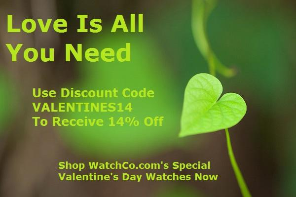 All You Need Is Love: Save Now! - WatchCo.com