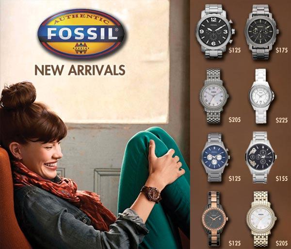 New Arrivals From Fossil Watches - WatchCo.com