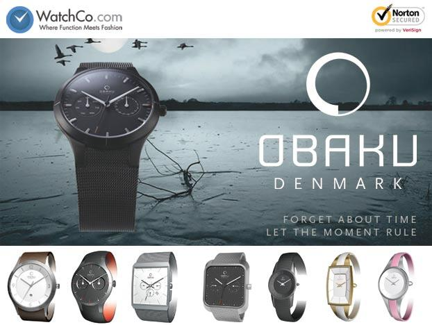 New @WatchCo.com: Obaku Harmony Watches - WatchCo.com