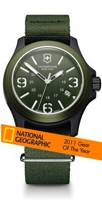 Victorinox Swiss Army Original 241514 Awarded National Geographic Gear Of The Year List - WatchCo.com