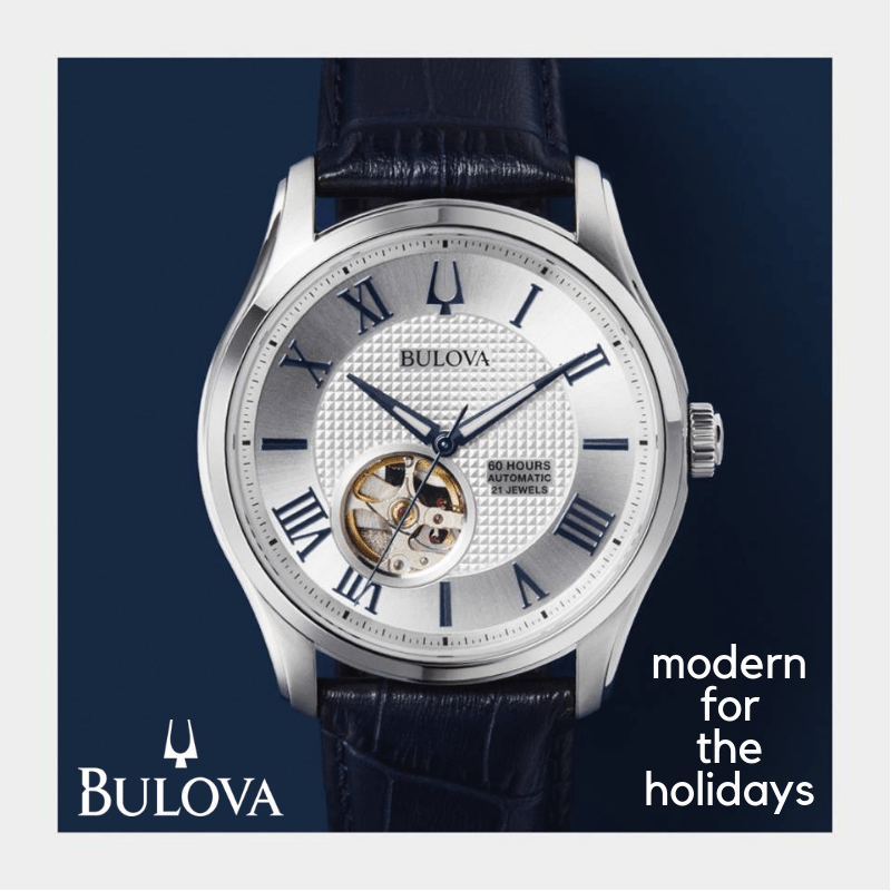 THIS JUST IN: New Bulova Watches