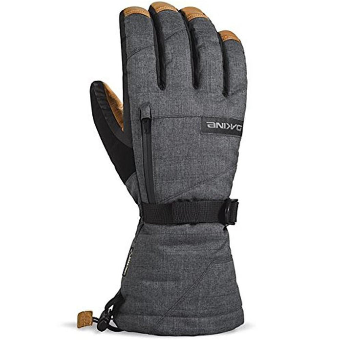 Dakine Mens Carbon Titan Leather Gloves - 01100353-CARBON-S - WatchCo.com