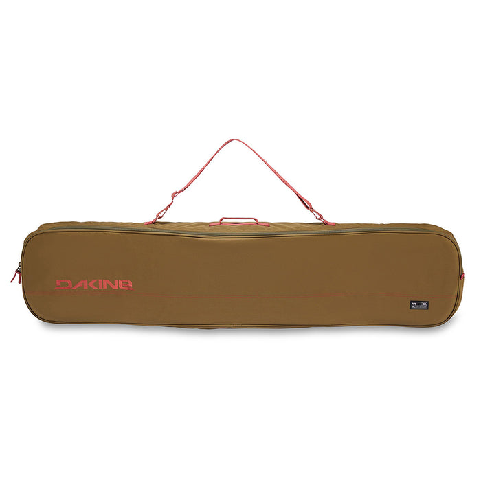 Dakine Unisex Dark Olive/Dark Rose Pipe Snowboard Spreader Bar Bag - 10001465-148-DARKOLIVE/DARKROSE