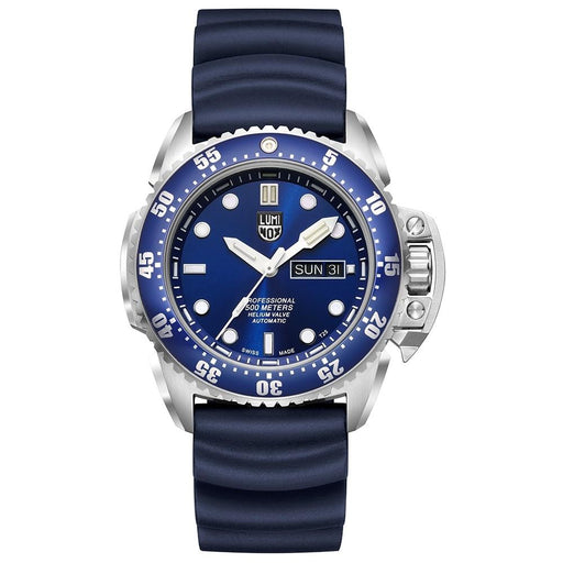 Luminox Men's Deep Dive Swiss Automatic Special Edition 1520 Series Blue Rubber Strap Blue Analog Dial Watch - XS.1523 - WatchCo.com