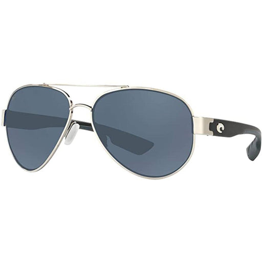 Costa Del Mar Mens South Point Palladium Frame Gray Polarized Lens Sunglasses - SO21OGP - WatchCo.com