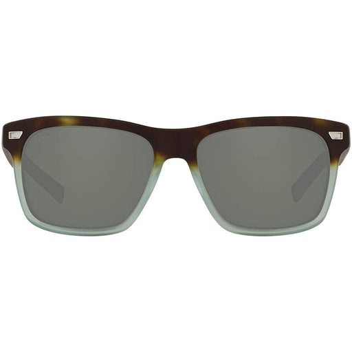 Costa Del Mar Mens Aransas Matte Tide Pool Frame Gray Polarized Lens Sunglasses - ARA207OGGLP - WatchCo.com