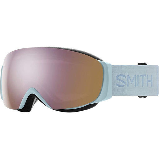 Smith Womens I/O MAG S Polar Blue Frame Rose Gold Mirror Chromapop Lens Snow Goggle - M007142XG99M5 - WatchCo.com