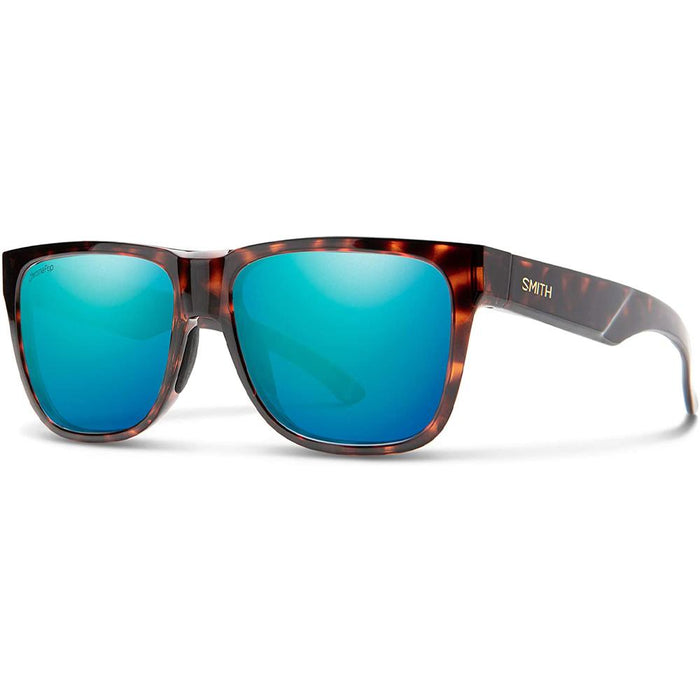 Smith Mens Lowdown 2 Tortoise Frame Opal Mirror Polarized Lens Sunglasses - 20094108656QG - WatchCo.com