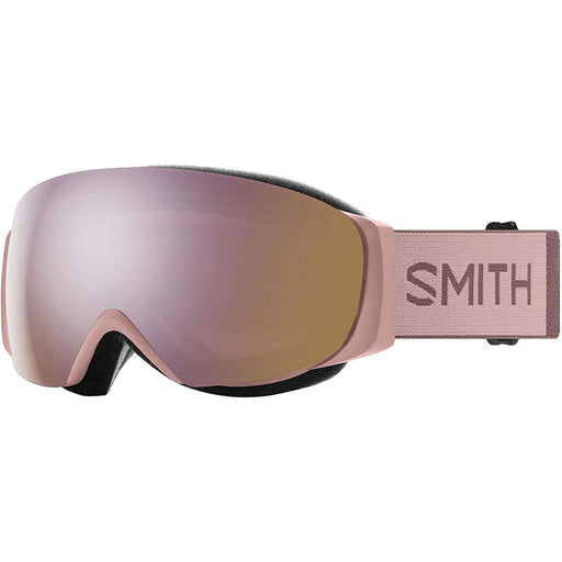 Smith Womens I/O MAG S Rock Salt / Tannin Frame Rose Gold Mirror Chromapop Lens Snow Goggle - M007142XQ99M5 - WatchCo.com