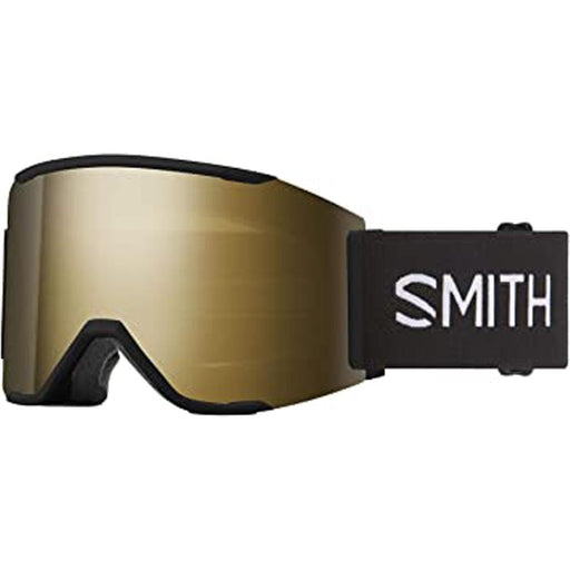 Smith Mens Squad MAG Black Frame Sun Black Gold Mirror Chromapop Lens Snow Goggle - M004312QJ99MN - WatchCo.com