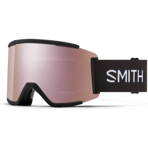 Smith Mens Squad XL Black Frame Gold Chromapop Lens Snow Goggle - M006752QJ99MN - WatchCo.com