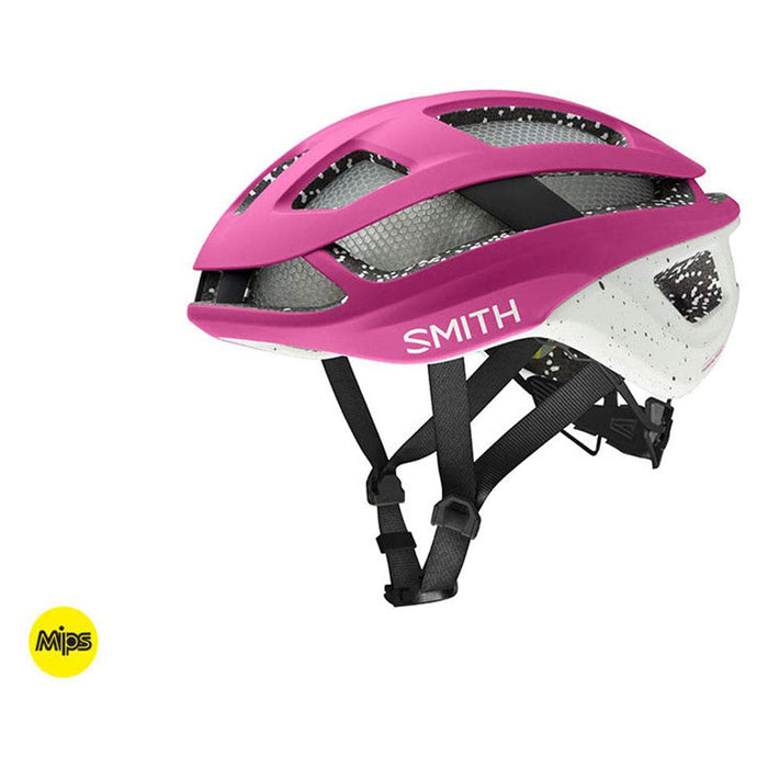 Smith Unisex Matte Berry/Vapor Optics Trace MIPS Cycling Helmet - E007283715155.