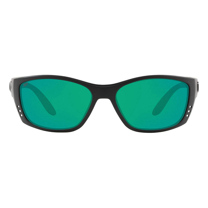 Costa Del Mar Mens Fisch Blackout Frame Copper Green Mirror Polarized 580p Lens Sunglasses - FS01OGMP