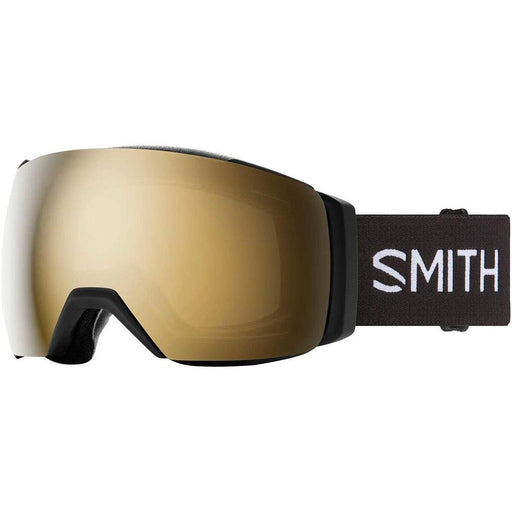 Smith Mens I/O MAG XL Black Frame Sun Black Gold Mirror Chromapop Lens Snow Goggle - M007132QJ99MN - WatchCo.com