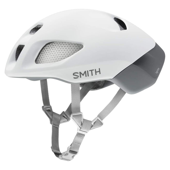 Smith Unisex Matte White Optics Ignite MIPS Cycling Helmet - E007367KM5559