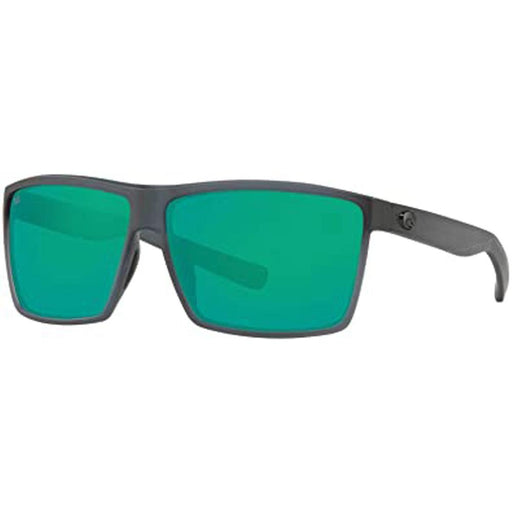 Costa Del Mar Mens Rincon Matte Smoke Crystal Frame Green Mirror Polarized Lens Sunglasses - RIN156OGMGLP - WatchCo.com