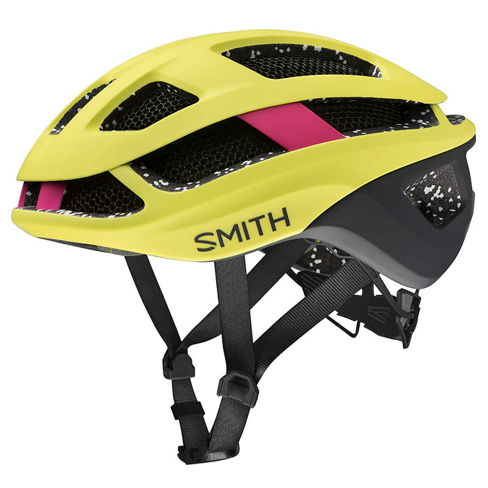 Smith Unisex Matte Citron/Peony Optics Trace MIPS Cycling Helmet - E007283755155
