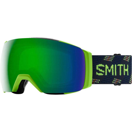 Smith Mens I/O MAG XL Lime light anchor Frame Sun Green Mirror Chromapop Lens Snow Goggle - M007132S699MK - WatchCo.com
