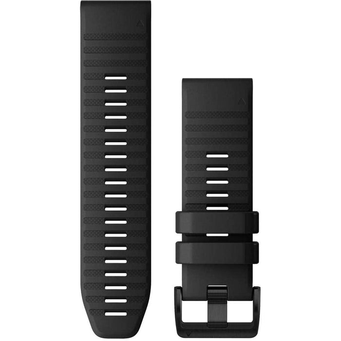 Garmin Unisex QuickFit 26 Watch Band Black Silicone Strap - 010-12864-00