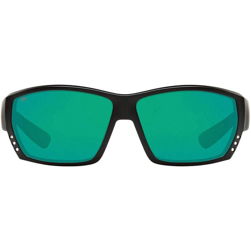 Costa Del Mar Mens Tuna Alley Matte Black Frame Blue Mirror Polarized Lens Sunglasses - TA11OGMGLP - WatchCo.com