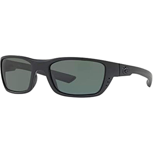 Costa Del Mar Mens Whitetip Blackout Frame Gray Polarized Lens Sunglasses - WTP01OGP - WatchCo.com