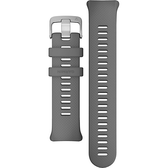 Garmin Unisex Swim 2 Replacement Band Tool Slate Silicone Wristwatch Grey Colour Strap - 010-12929-00