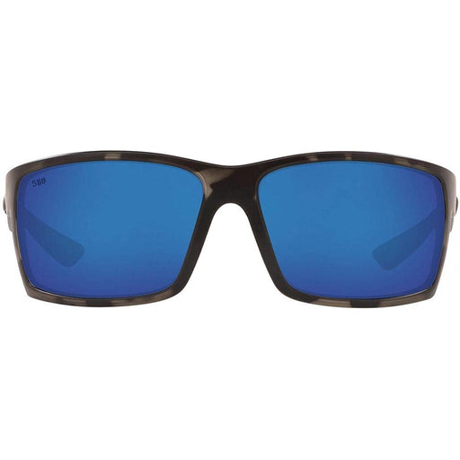 Costa Del Mar Mens Reefton Ocearch Matte Tiger Shark Frame Blue Mirror Polarized Lens Sunglasses - RFTOCOBMGLP - WatchCo.com