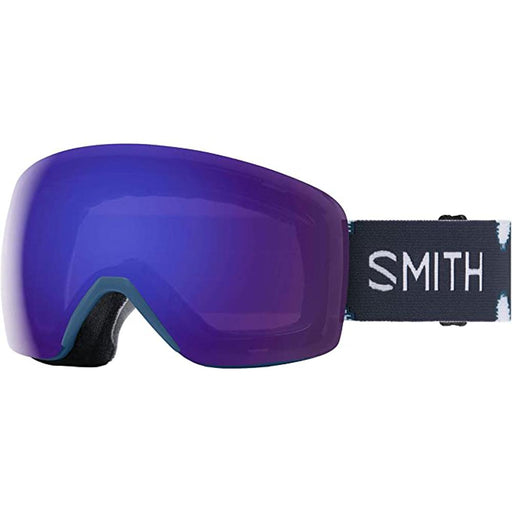 Smith Womens Skyline Meridian Ikat Frame Violet Mirror Chromapop Lens Snow Goggle - M006812WR9941 - WatchCo.com