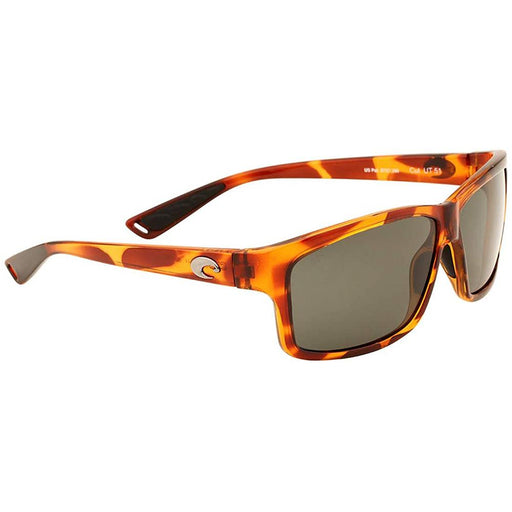 Costa Del Mar Mens Reefton Blackout Frame Silver Sunrise Mirror Polarized Lens Sunglasses - RFT01OSSGLP - WatchCo.com