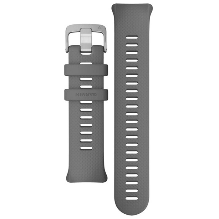 Garmin Unisex Swim 2 Replacement Tool Slate Silicone Grey Watch Band - 010-12929-02