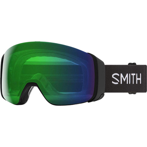 Smith Mens 4D MAG Black Frame Everyday Green Mirror Chromapop Lens Snow Goggle - M007322QJ99XP - WatchCo.com