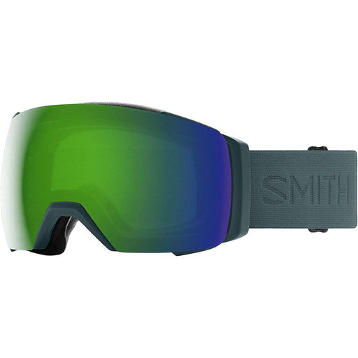 Smith Mens I/O MAG XL Spruce Flood Frame Sun Green Mirror Chromapop Lens Snow Goggle - M0071332D99MK - WatchCo.com