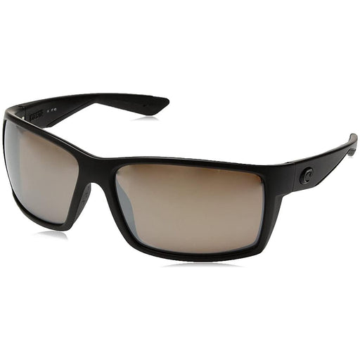 Costa Del Mar Mens Reefton Blackout Frame Copper Silver Mirror Polarized Lens Sunglasses - RFT01OSCGLP - WatchCo.com