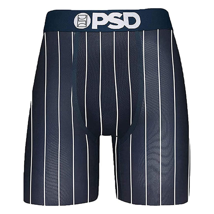 PSD Mens GT Stripes Boxer Blue Underwear - E32011046-BLU-XL