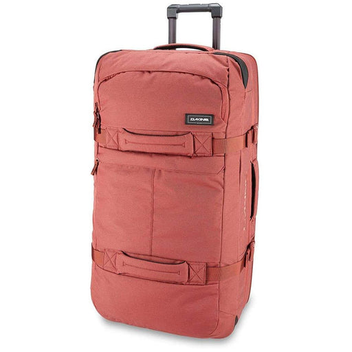 Dakine Unisex Dark Rose Split 85L Wheeled Roller Luggage Bag - 10002941-DARKROSE - WatchCo.com