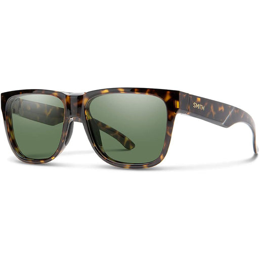 Smith Mens Lowdown 2 Vintage Tortoise Frame Gray Green Polarized Lens Sunglasses - 200941P6556L7 - WatchCo.com