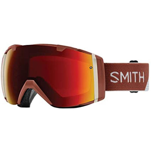 Smith Mens I/O MAG Adobe Split Frame Sun Red Mirror Chromapop Lens Snow Goggle - M006382QJ996K - WatchCo.com
