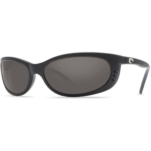 Costa Del Mar Mens Fathom Matte Black Frame Gray Polarized 580g Lens Sunglasses - FA11OGGLP - WatchCo.com