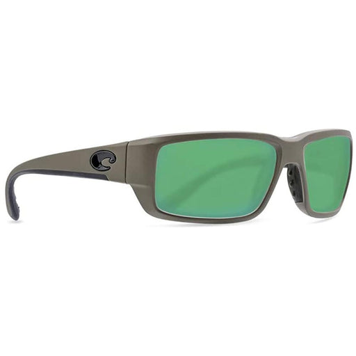 Costa Del Mar Mens Fantail Matte Moss Frame Green Mirror Polarized Lens Sunglasses - TF198OGMGLP - WatchCo.com