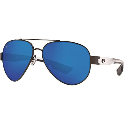 Costa Del Mar Mens South Point Gunmetal Frame Blue Mirror Polarized Lens Sunglasses - SO74OBMGLP - WatchCo.com