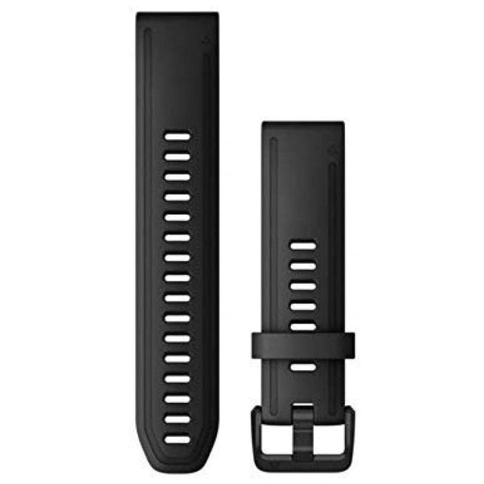 Garmin Unisex Quickfit Watch Strap Vented Black Silicone Band - 010-12867-00