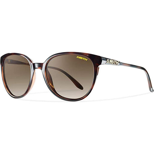 Smith Womens Cheetah Tortoise Frame Brown Gradient Polarized Lens Sunglasses - CTPPBRGTT - WatchCo.com