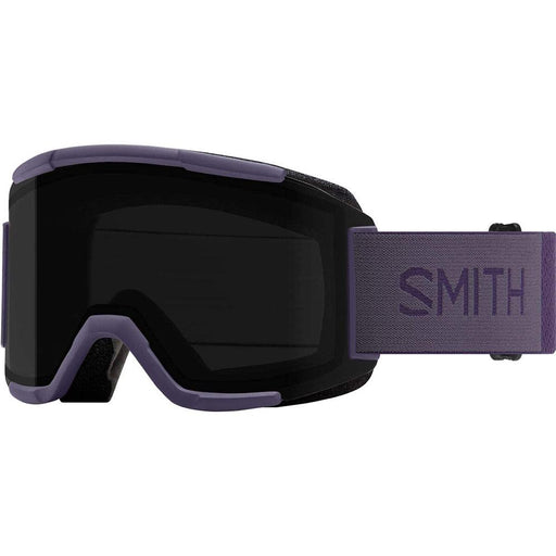 Smith Mens Squad Violet Frame Sun Black Mirror Chromapop Lens Snow Goggle - M0066832X994Y - WatchCo.com