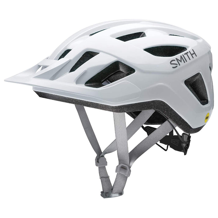 Smith Mens White Optics Convoy MIPS MTB Cycling Helmet - E007417KD5559